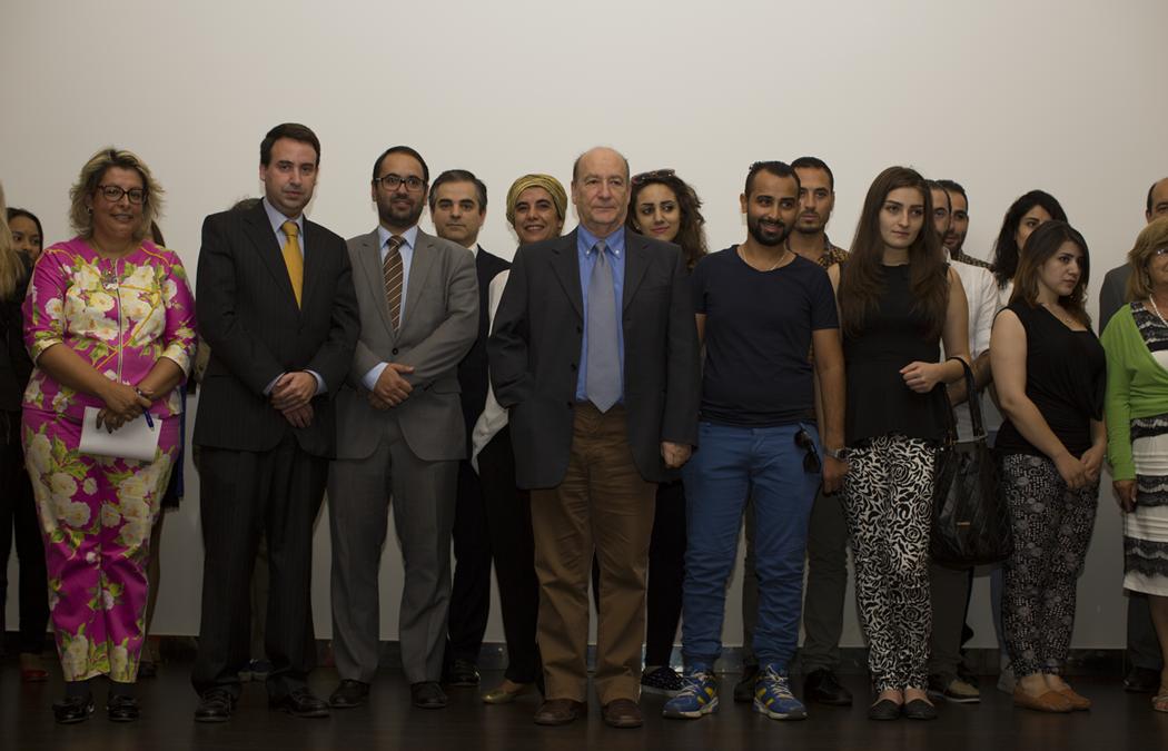 ISG deu ontem as boas-vindas a alunos sírios