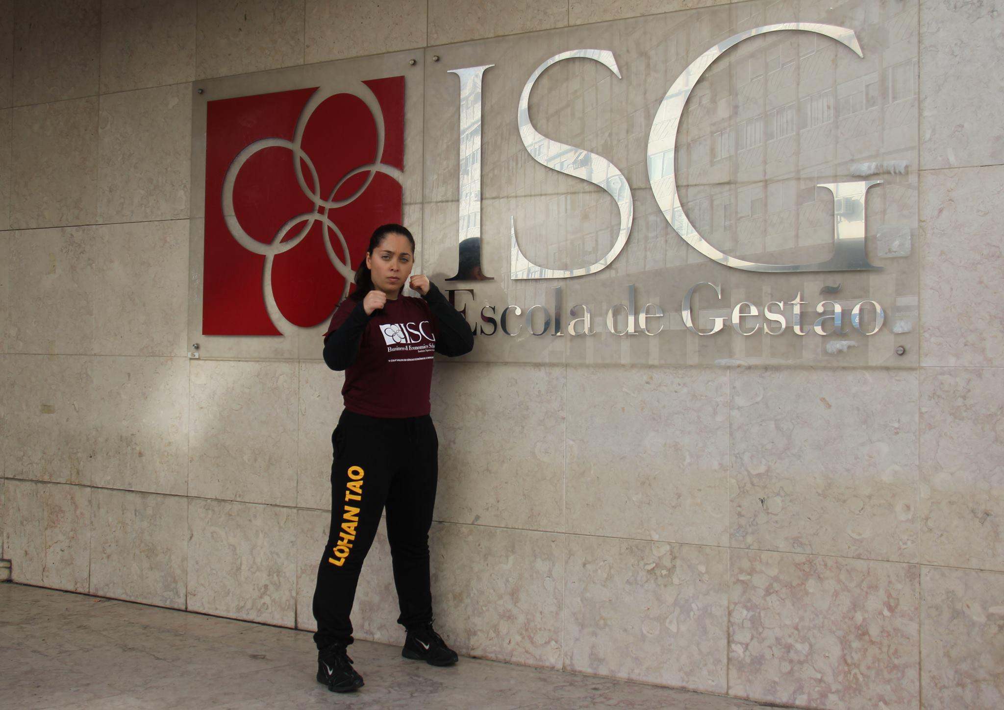 ISG apadrinha desportistas e apoia Maria Baptista praticante de Lohan Tao