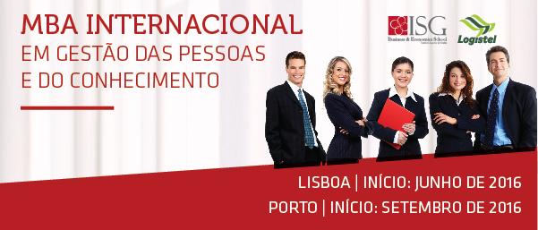 MBA NTERNACIONAL EM GESTÃO DE PESSOAS E DO CONHECIMENTO