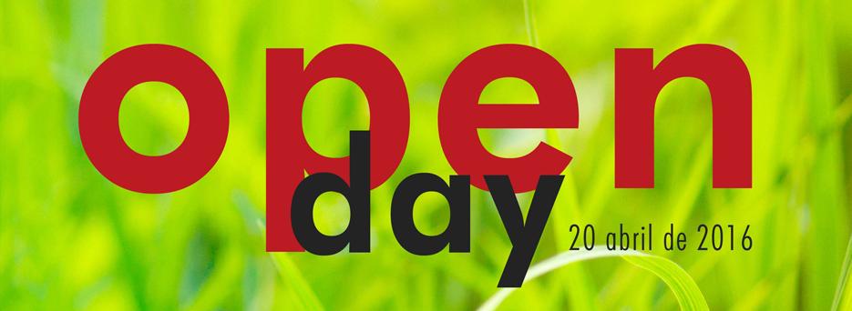 Open day | 20 de abril de 2016