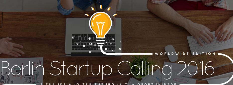 """Concurso """"Berlin Startup Calling"""""""