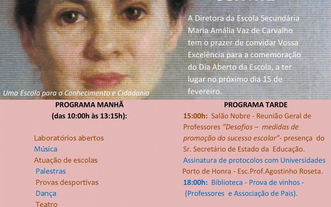 ISG ASSINA PROTOCOLO COM A ESCOLA SECUNDÁRIA MARIA AMÁLIA VAZ DE CARVALHO
