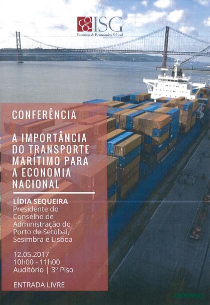 A economia portuguesa e o transporte pelo mar