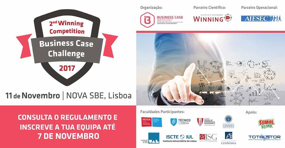 ISG participa no Business Case Challenge