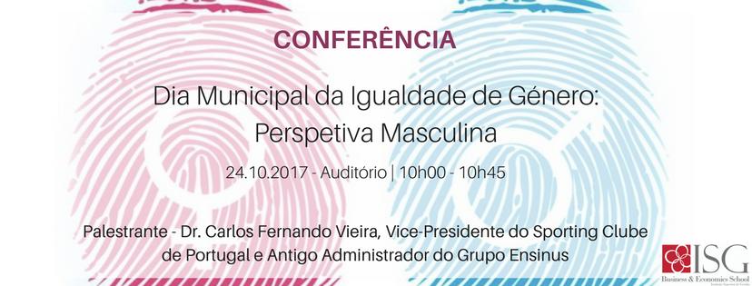 Conferência   Dia Municipal da Igualdade de Género