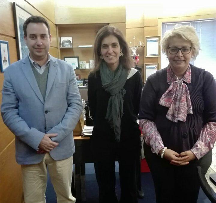 Deputada Ana Rita Bessa visita o ISG