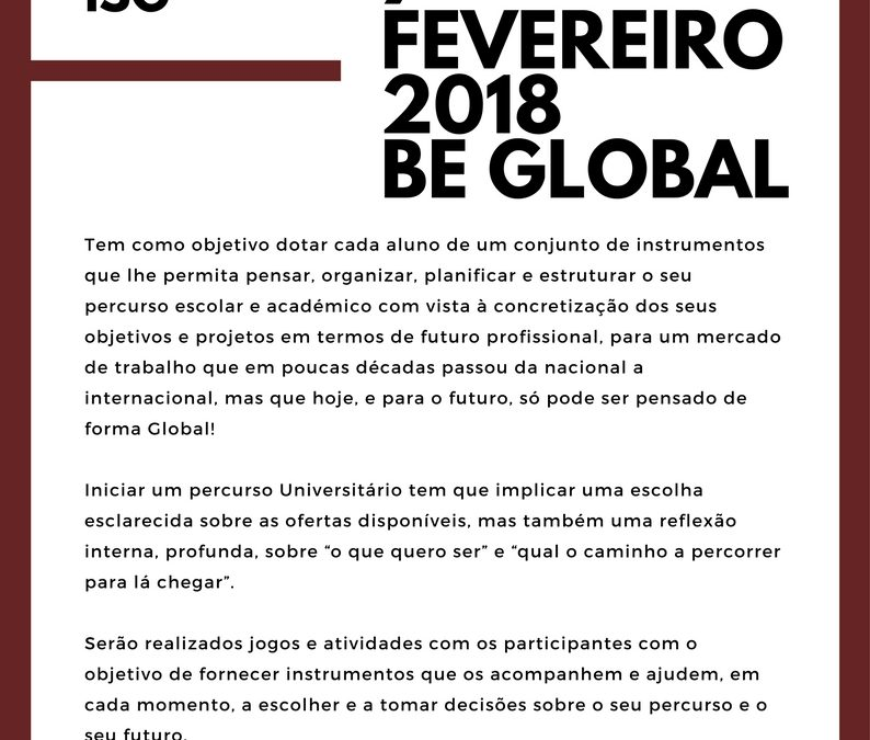 Open Day ISG | Be Global