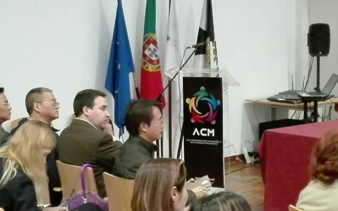 Reunião de Associações Chinesas em Portugal