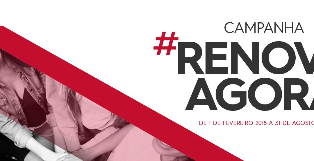 Campanha #RENOVAAGORA