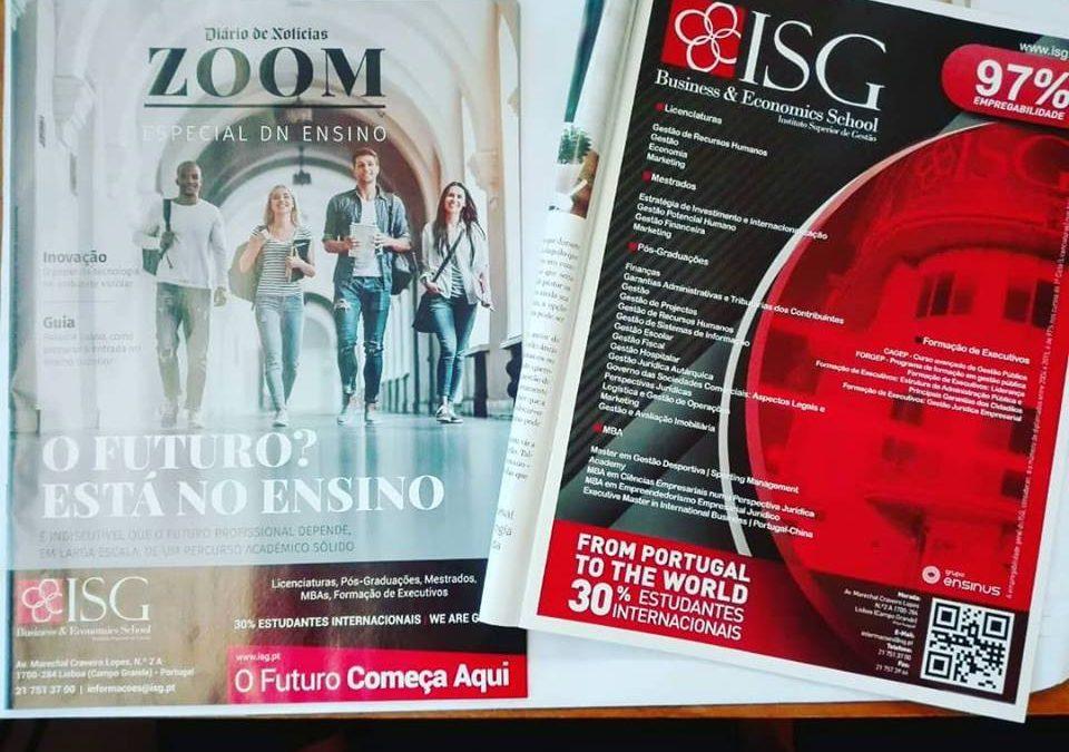 ISG é capa da revista ZOOM DN