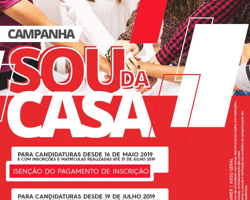 Campanha #SouDaCasa