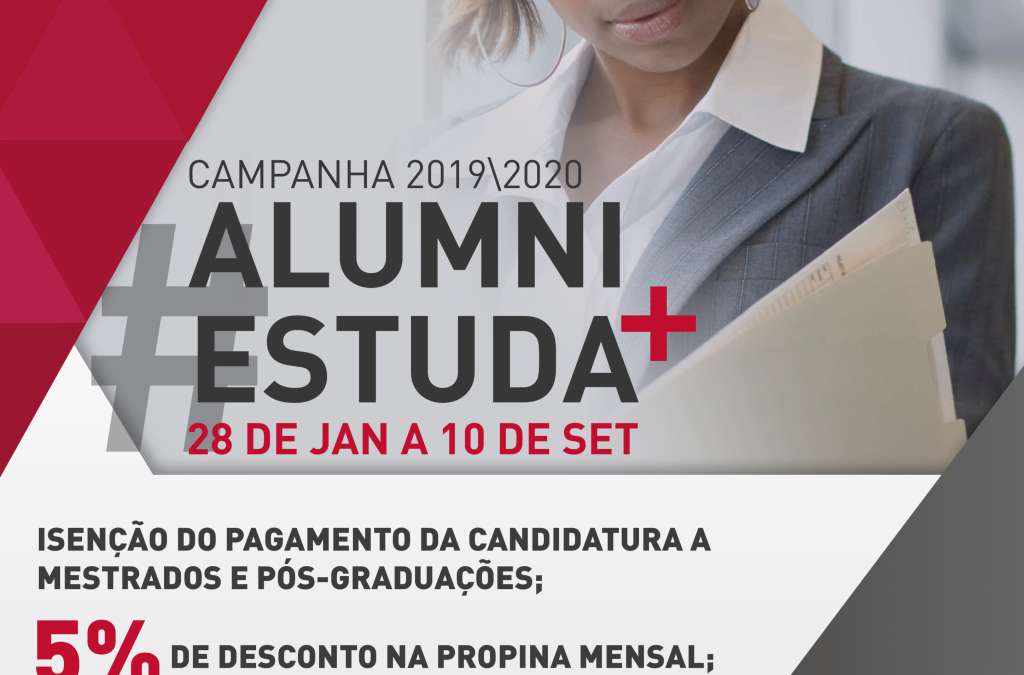 Campanha #ALUMNIESTUDA+