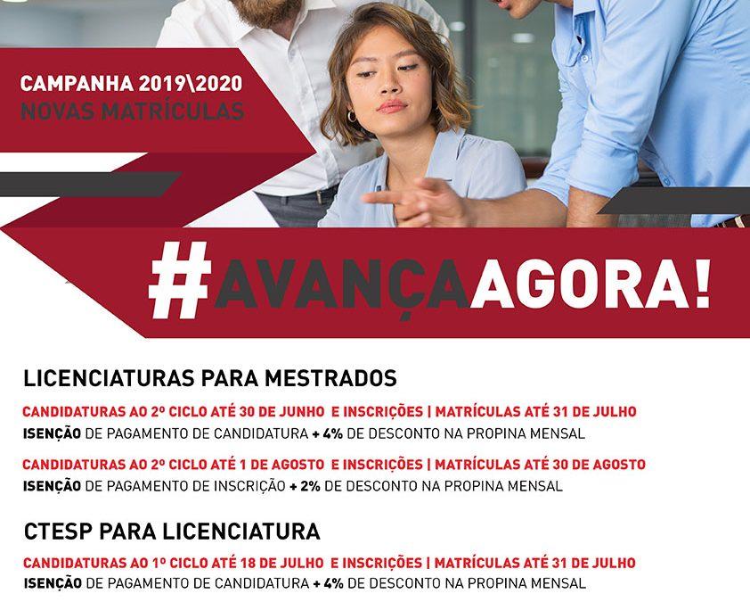 Campanha #AvançaAgora!