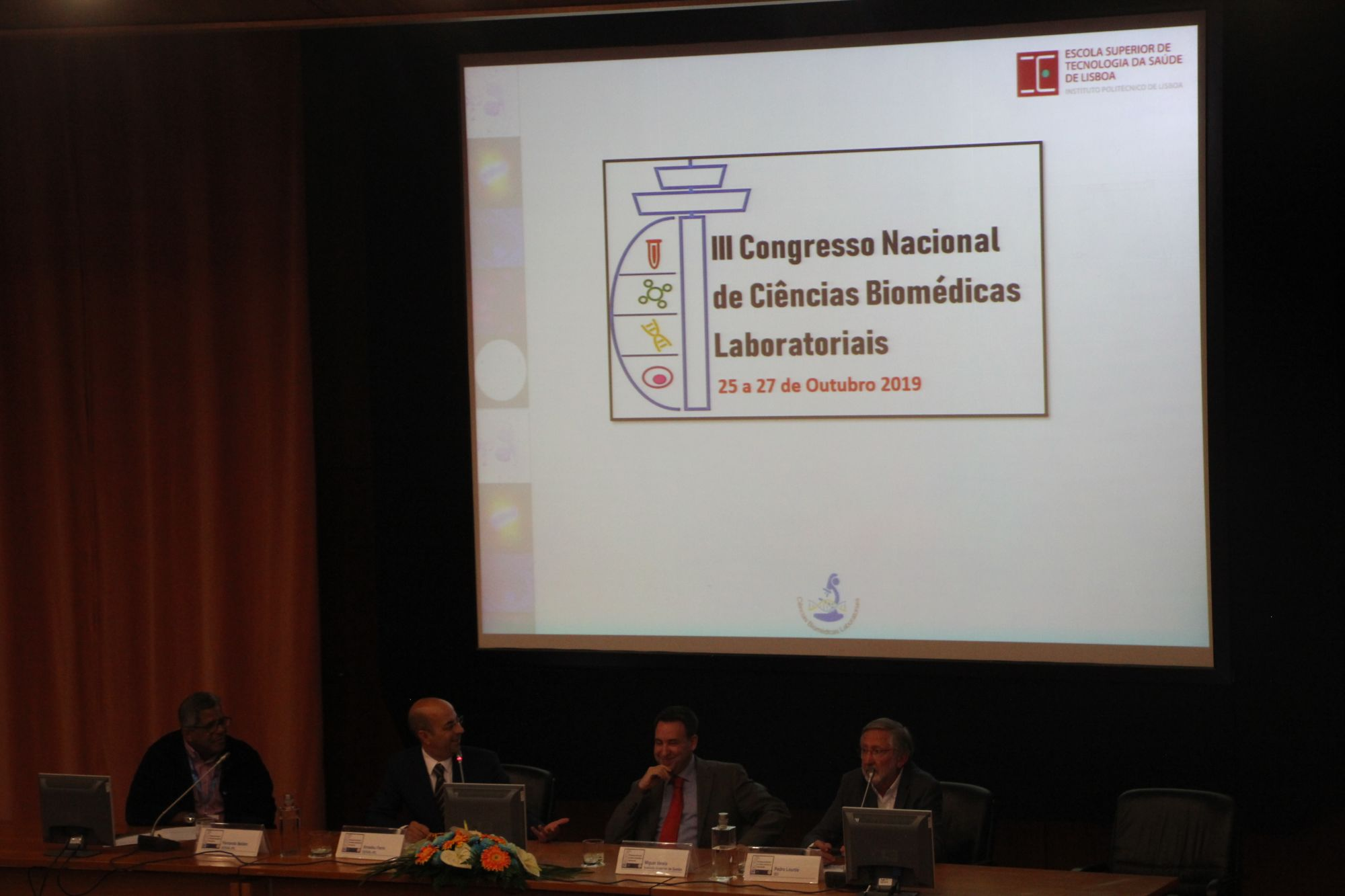 Diretor do ISG Convidado no III Congresso de Ciências Biomédicas do IPL