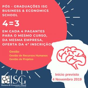 Pós-Graduações ISG