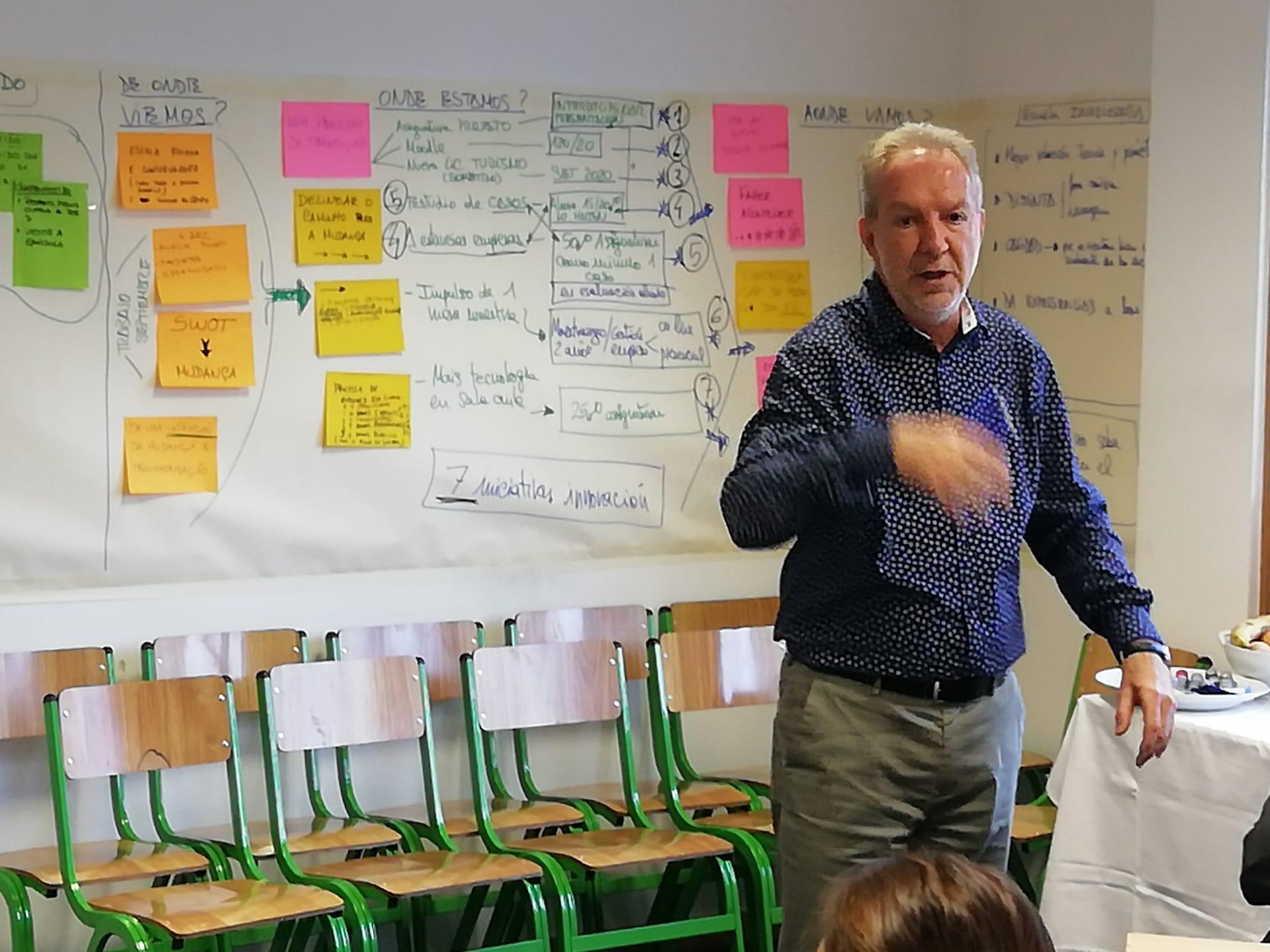 Equipa ISG recebe Ação de Formação da Riedulab – Reimagine Education Lab
