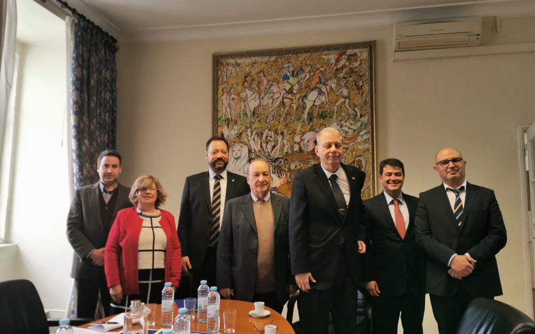 Assinatura do Convénio entre o ISG e o INEP