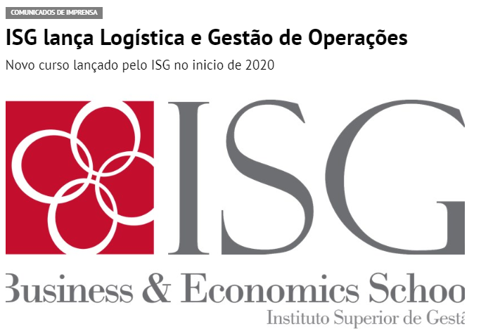 ISG lança Pós – Graduação em Logística e Gestão de Operações