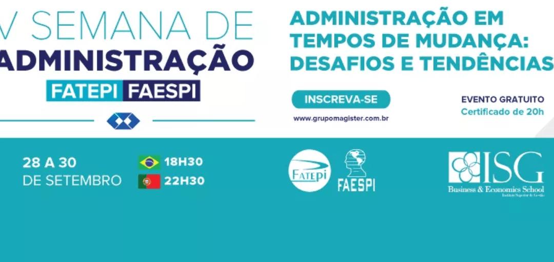 Cooperação ISG |FATEPI