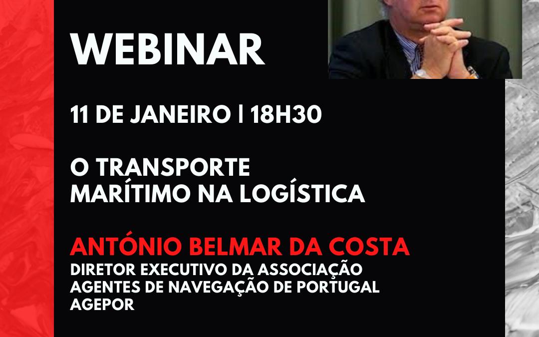 """Webinar: """"O Transporte Marítimo na Logística"""""""