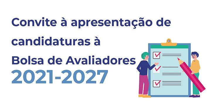 Bolsa de Avaliadores(as) Erasmus+ 2021-2027