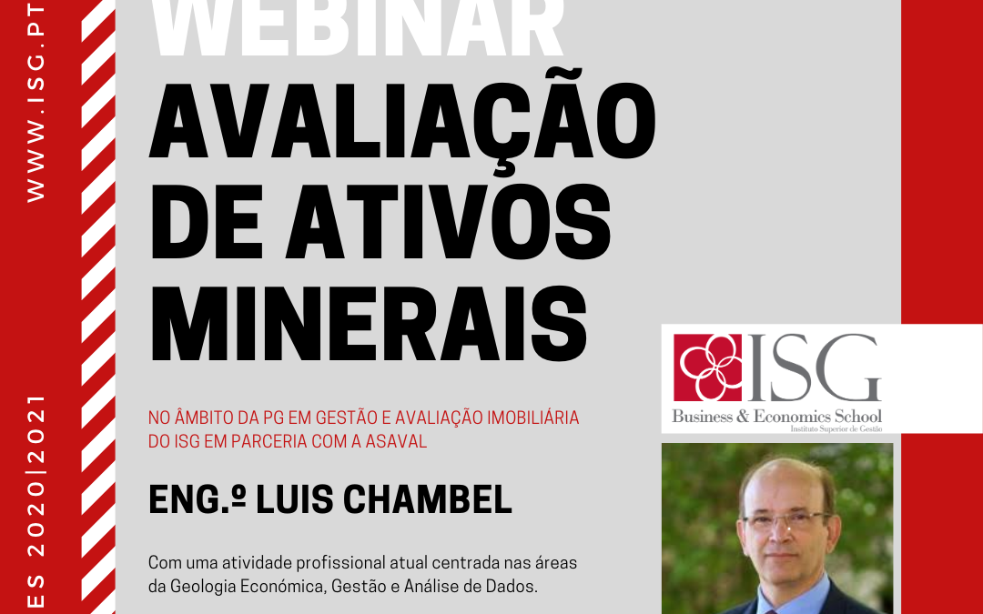 Webinar: Avaliação de Ativos Minerais