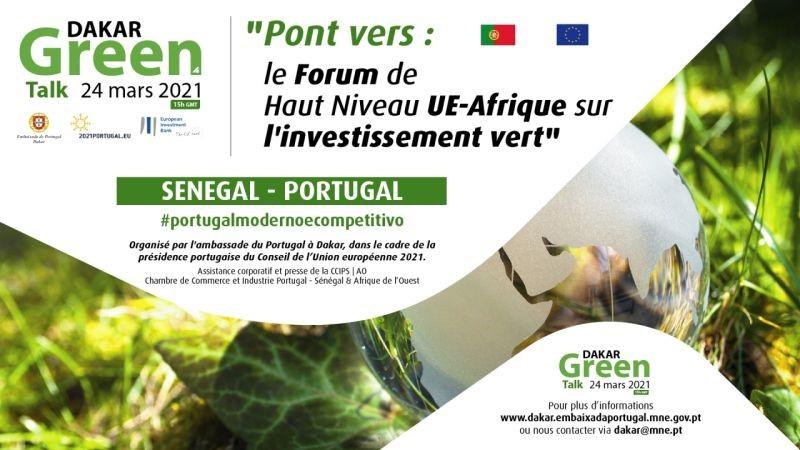 """Webinar: """"Dakar Green Talk"""""""