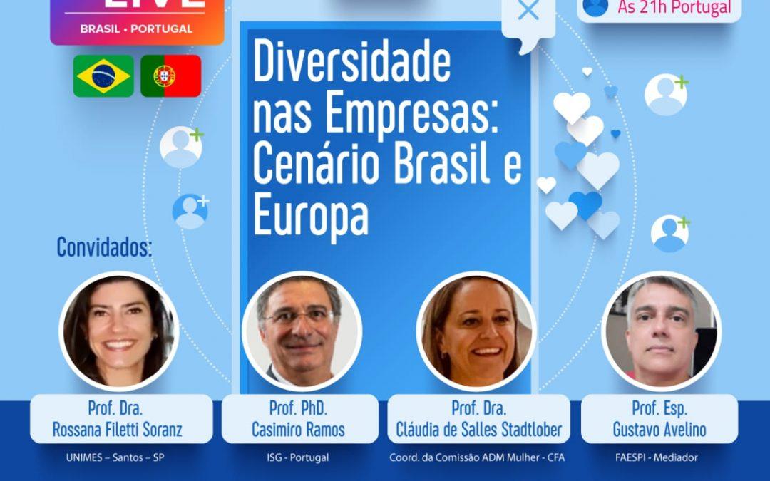"""""""Diversidade nas Empresas: Cenário Brasil e Europa"""""""