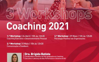 3 Workshops Coaching 2021