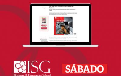 ISG com nova licenciatura em Gestão do Turismo