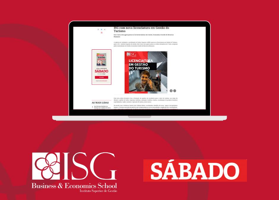 ISG com nova licenciatura em Gestão do Turismo – Revista Sábado