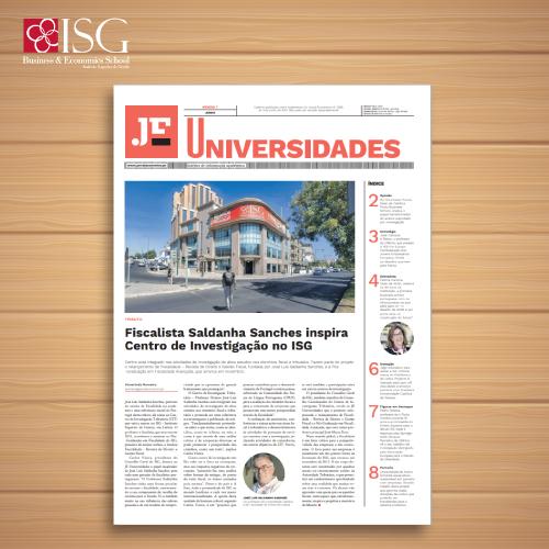 Fiscalista Saldanha Sanches inspira Centro de Investigação no ISG