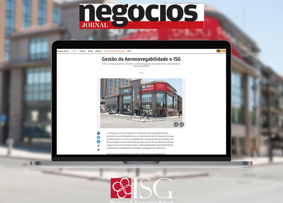 Pós-Graduação em Gestão da Aeronavegabilidade em destaque nos meios digitais portugueses