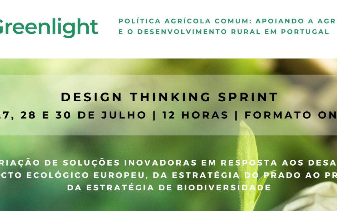 Greenlight | Design Thinking Sprint – 26 a 30 de julho