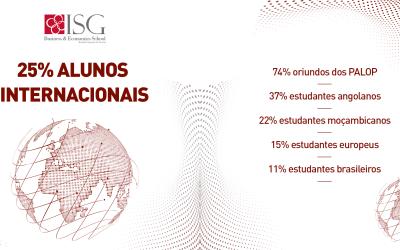 ISG com 25% de Alunos Internacionais